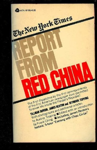 9780812903423: The New York Times Report from Red China