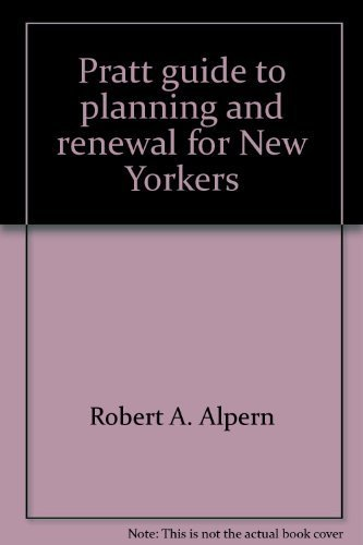 9780812903454: Pratt guide to planning and renewal for New Yorkers