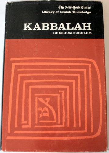 9780812903522: Kabbalah (Library of Jewish knowledge)
