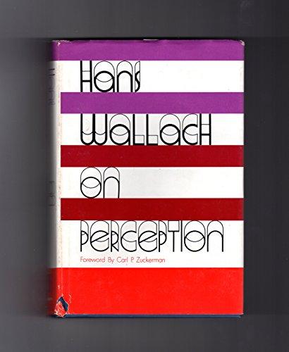 On Perception: Wallach, Hans
