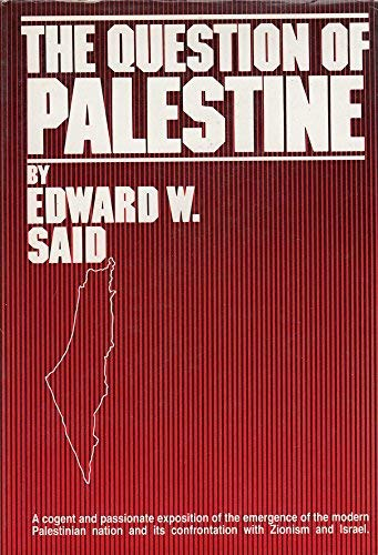 9780812908329: The question of Palestine