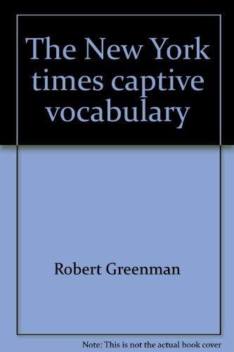 9780812909746: The New York times captive vocabulary
