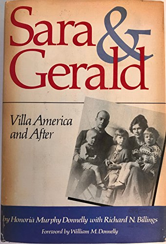 9780812910308: Sara & Gerald: Villa America and After