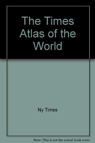 9780812910896: The Times Atlas of the World by Ny Times; John Bartholomew and Son; New York ...