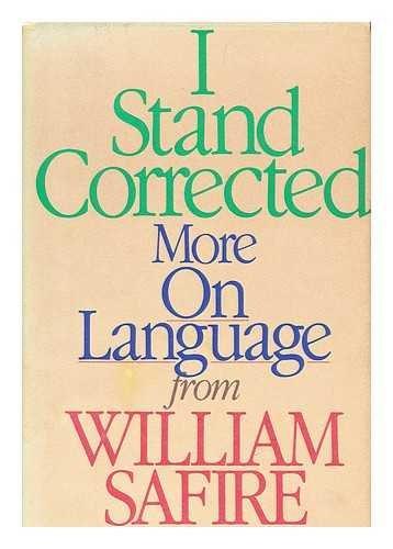 william safire essays on language William safire — william l safire, né le 17 décembre 1929 et mort le 27 septembre 2009, était un éditorialiste, journaliste, et spécialiste de la langue américain originaire de new york il avait été conseiller de richard nixon pour qui il avait écrit de.