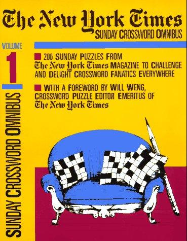 9780812911398: The New York Times Sunday Crossword Omnibus: 001