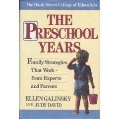 9780812912166: The Preschool Years