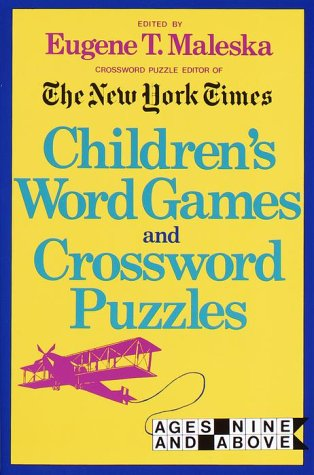 9780812913088: Children's Word Games and Crossword Puzzles (Other)
