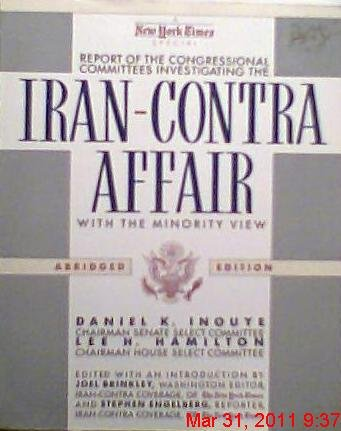 9780812916959: Iran-Contra Affair: Report of the Congressional Committees (Abridged Edition)