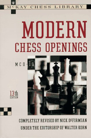 9780812917857: Modern Chess Openings: McO-13, 13th Edition