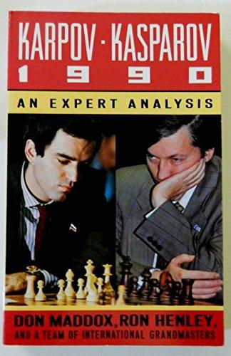 9780812919233: Karpov-Kasparov 1990: An Expert Analysis
