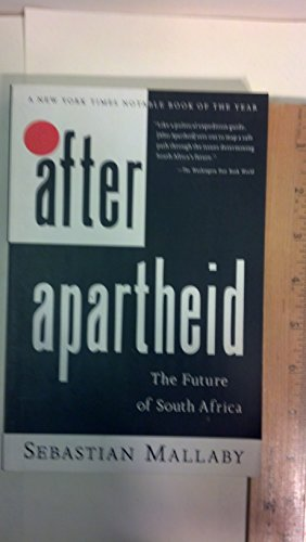 9780812922042: After Apartheid:: The Future of South Africa