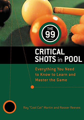 9780812922417: The 99 Critical Shots in Pool: Everything You Need to Know to Learn and Master the Game