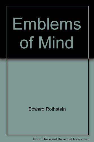 9780812922981: Emblems of mind: The inner life of music and mathematics