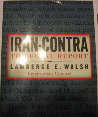 9780812924565: Iran-Contra: The Final Report