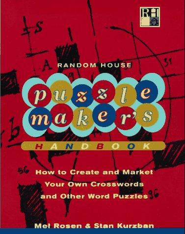 Random House Puzzlemaker's Handbook (RH Crosswords): Rosen, Mel