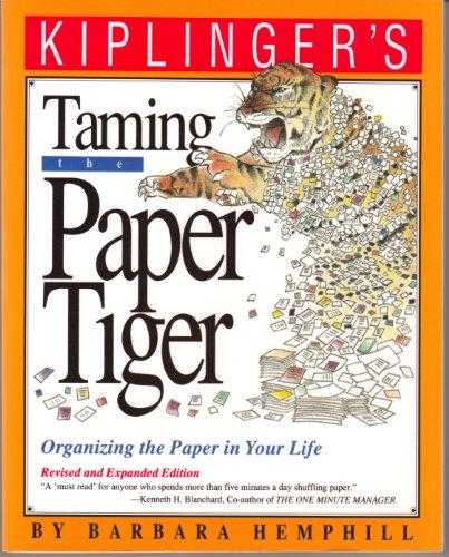 Taming the Paper Tiger: Hemphill, Barbara