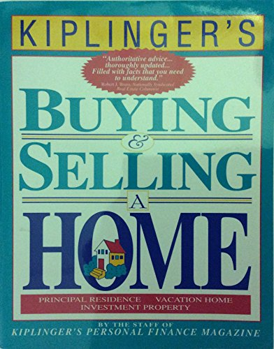 9780812926590: Kiplinger's Buying & Selling a Home