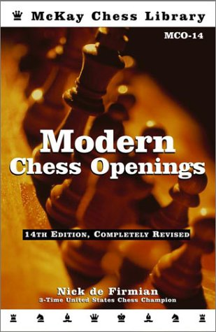 9780812930849: Modern Chess Openings: MCO-14 (McKay Chess Library)
