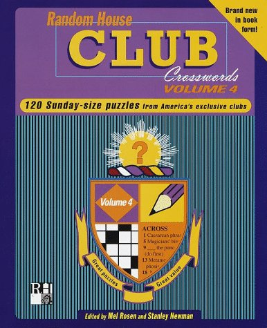Random House Club Crosswords, Volume 4 (Other)