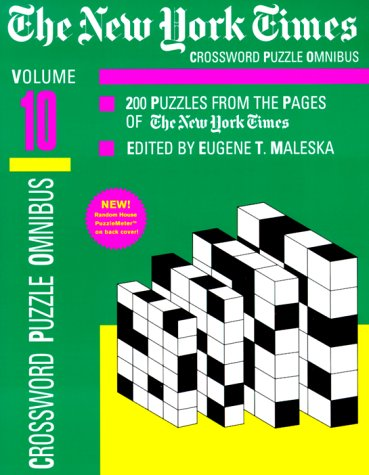 9780812931655: The New York Times Daily Crossword Omnibus, Volume 10