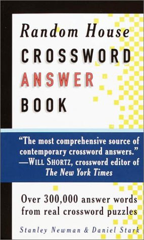 9780812932140: Random House Crossword Answer Book (RH Crosswords)