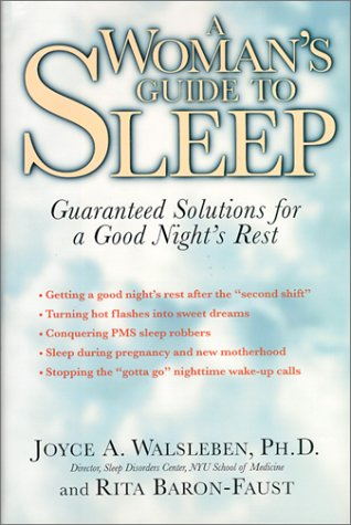 9780812932591: A Woman's Guide to Sleep: Guaranteed Solutions for a Good Night's Rest