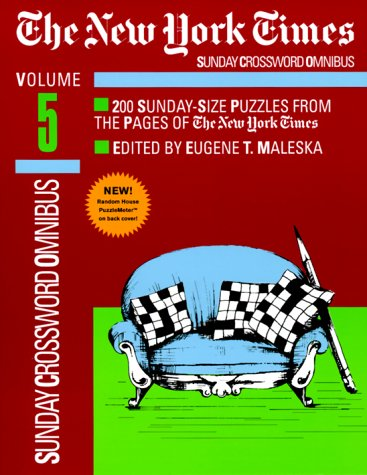 9780812932935: New York Times Sunday Crossword Omnibus, Volume 5 (NY Times)