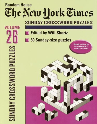 9780812933819: New York Times Sunday Crossword Puzzles, Volume 26 (NY Times)