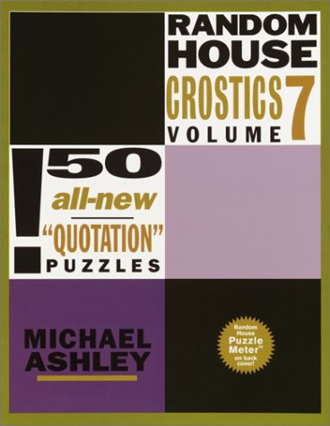 9780812933918: Random House Crostics, Vol. 7