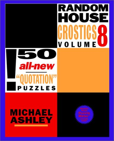 9780812933925: Random House Crostics, Volume 8 (Other)