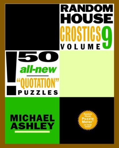 9780812933932: Random House Crostics, Volume 9 (Other)