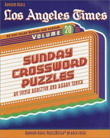 9780812934144: Los Angeles Times Sunday Crossword Puzzles, Volume 20 (The Los Angeles Times)