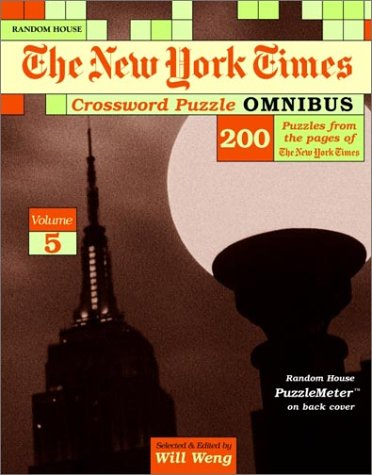 9780812935547: New York Times Crossword Puzzle Omnibus, Volume 5 (NY Times)