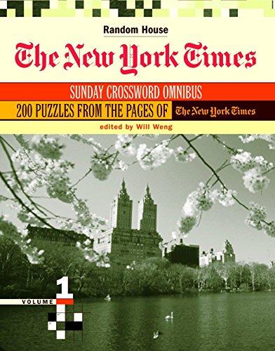 9780812936155: New York Times Sunday Crossword Omnibus: 1