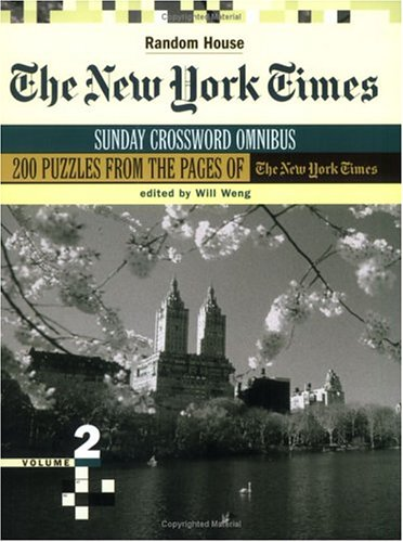 9780812936162: The New York Times Sunday Crossword Omnibus: 2