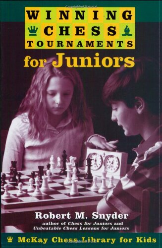 Winning Chess Tournaments for Juniors 9780812936353 Learn What it Takes to Win a Chess Tournament Robert M. Snyder is one of America's top chess trainers for young players and the coach of many first-place tournament players. In Winning Chess Tournaments for Juniors, he reveals the secrets of his students' success. In addition to providing preparatory advice and tactical lessons for champions-in-training, Snyder outlines winning games of chess champions and includes profiles of individual players. Winning Chess Tournaments for Juniors covers: § Tips for training and conditioning before tournaments § Tournament rules and how to make the most of them § The psychology of competition § Key opening and endgame strategies § Exercises in pattern recognition