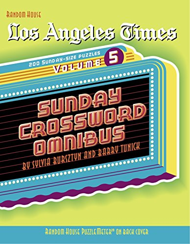 9780812936834: Los Angeles Times Sunday Crossword Omnibus, Volume 5 (The Los Angeles Times)