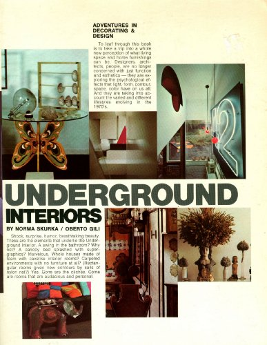 9780812962277: Underground Interiors: Decorating For Alternative Life Styles (Adventures In ...
