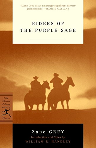 9780812966121: Riders of the Purple Sage (Modern Library Classics)