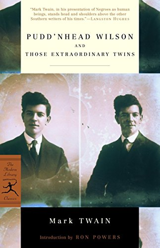 9780812966220: Pudd'nhead Wilson and Those Extraordinary Twins (Modern Library Classics)