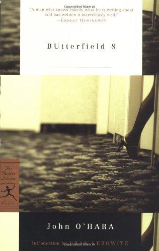 9780812966985: BUtterfield 8 (Modern Library Classics)