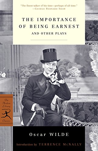 9780812967142: The Importance of Being Earnest: And Other Plays (Modern Library Classics)