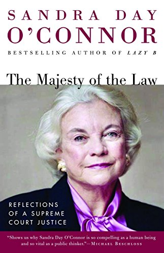 9780812967470: The Majesty of the Law: Reflections of a Supreme Court Justice