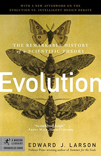 9780812968491: Evolution: The Remarkable History of a Scientific Theory (Modern Library Chronicles)