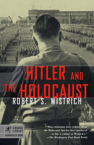 9780812968637: Hitler and the Holocaust (Modern Library Chronicles)