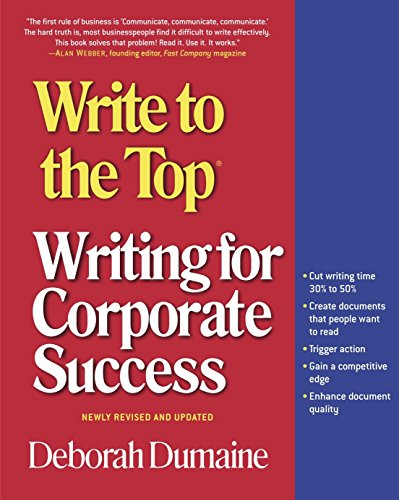 9780812968989: Write to the Top: Writing for Corporate Success