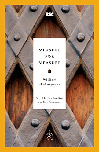 9780812969283: Measure for Measure (Modern Library Classics)