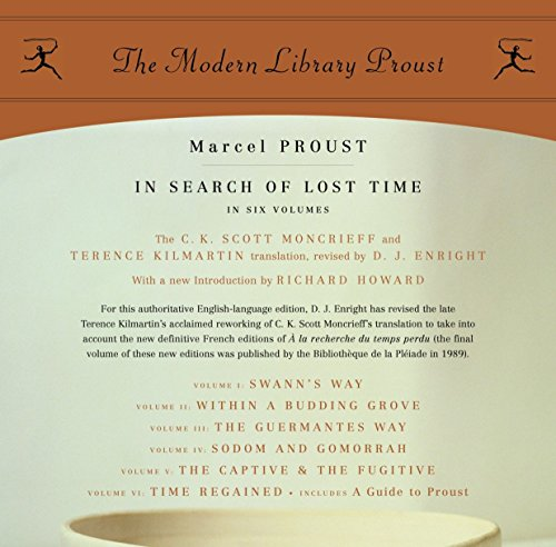 9780812969641: In Search of Lost Time (Proust Complete - 6 Volume Box Set) (Modern Library)