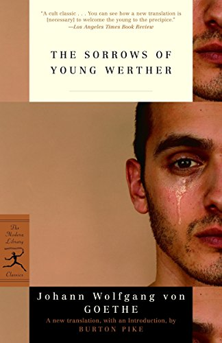 9780812969900: Sorrows of Young Werther (Modern Library)